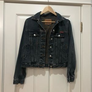 Womens Vintage Lucky Brand Jean Jacket